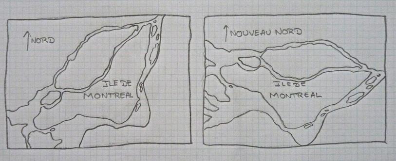 Montréal, le plan