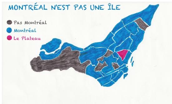 carte de Montreal